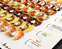 Special offer menu for Japanese restaurant «TWO STICKS»
