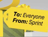 Sprint Studio Holiday Ribbon Monitor