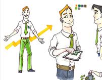 Broker Character design