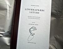 Sigríður Rún - 'Anatomy of letters' book