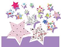 Kids Textile print design