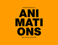 Animation's for instagram, and others motion design