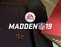 EA MADDEN NFL 19 — Game Branding