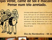 Tábua de Carne - Dia do Nordestino.