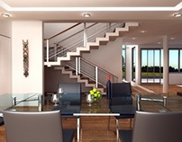 Kelvin house interior design+visualization, Accra, GH