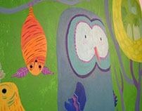 Mural: Deer (( We Are Todos ))