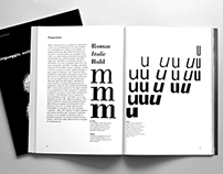 Language, writing, typography. Adrian Frutiger tribute.