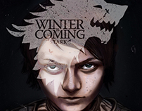 Arya Stark - Winter Is Coming