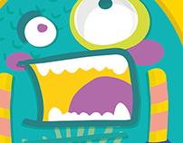 PUC - Ilustração Monstrinhos PUC