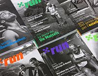 X.RUN| Magazine redesign