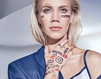 Elena Krygina / Glamour magazine
