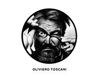 Oliviero Toscani - Parallax Web Site