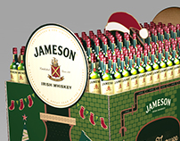 Jameson cardboard display