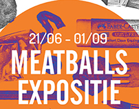 Flyer Meatballs exhibition