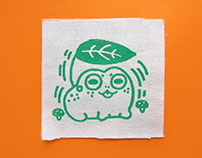 Screen Printed Patch Designs