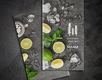 "Bar card for restaurant ""Dendrarium"""