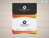 Sleek Design Business Card Template