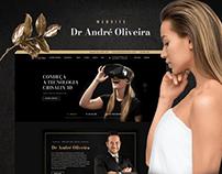 Redesign site Dr André Oliveira
