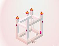 Isometric Illustrator Practice