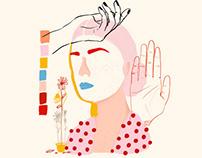 Ejercicios de color y forma - 09 - Retratos