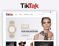 Tiktak E-commerce