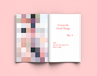 Censor the Good Things   volume one