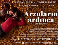 Arzuların Ardınca movie poster and flyer design