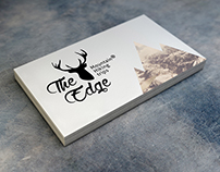 THE EDGE hiking club branding