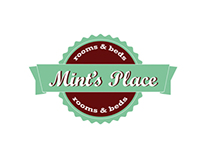 Mint's Place. Identity design.