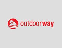 OUTDOOR WAY   Logotype & Eshop