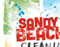 Sandy Beach Clean Up Tee