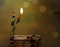 burning the spirits