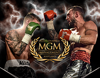 MGM Boxing - A5 leaflet