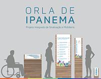 Orla de Ipanema :: Sinalização e Mobiliário