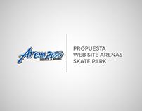 Propuesta Web Site Arenas Skate Park