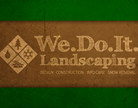 We Do It Landscaping Inc. Brand Identity