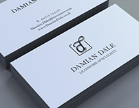 Identity & Website Design, Damian Dale