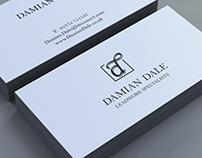 Identity & Website Design, Damian Dale