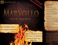 Pizza restaurant leaflet