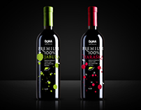 Website for DoNA Premium Beverages