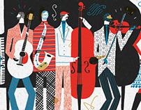 The Band - Illustration