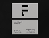 Logo and Identity for Facade architectural studio. ©