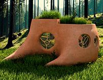 Foxberries, eco-hotel concept
