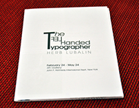 The Left Handed Typographer (Exhibition Catalogue)