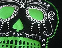 Exist Skateboard Shop Skull T-Shirt