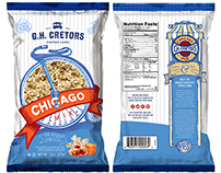G.H. Cretors Popped Corn Packaging Redesign Concept