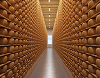 Cheese Bank in Italy