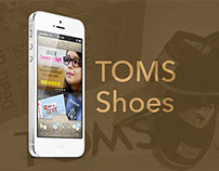 TOMS Shoes Mobile App
