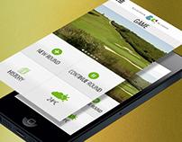GolfApp for bViva