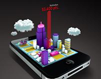 Qantas iPhone App Ad